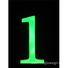 Realglow 3D Number 1